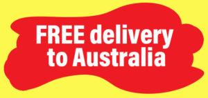 Free delivery to Australia